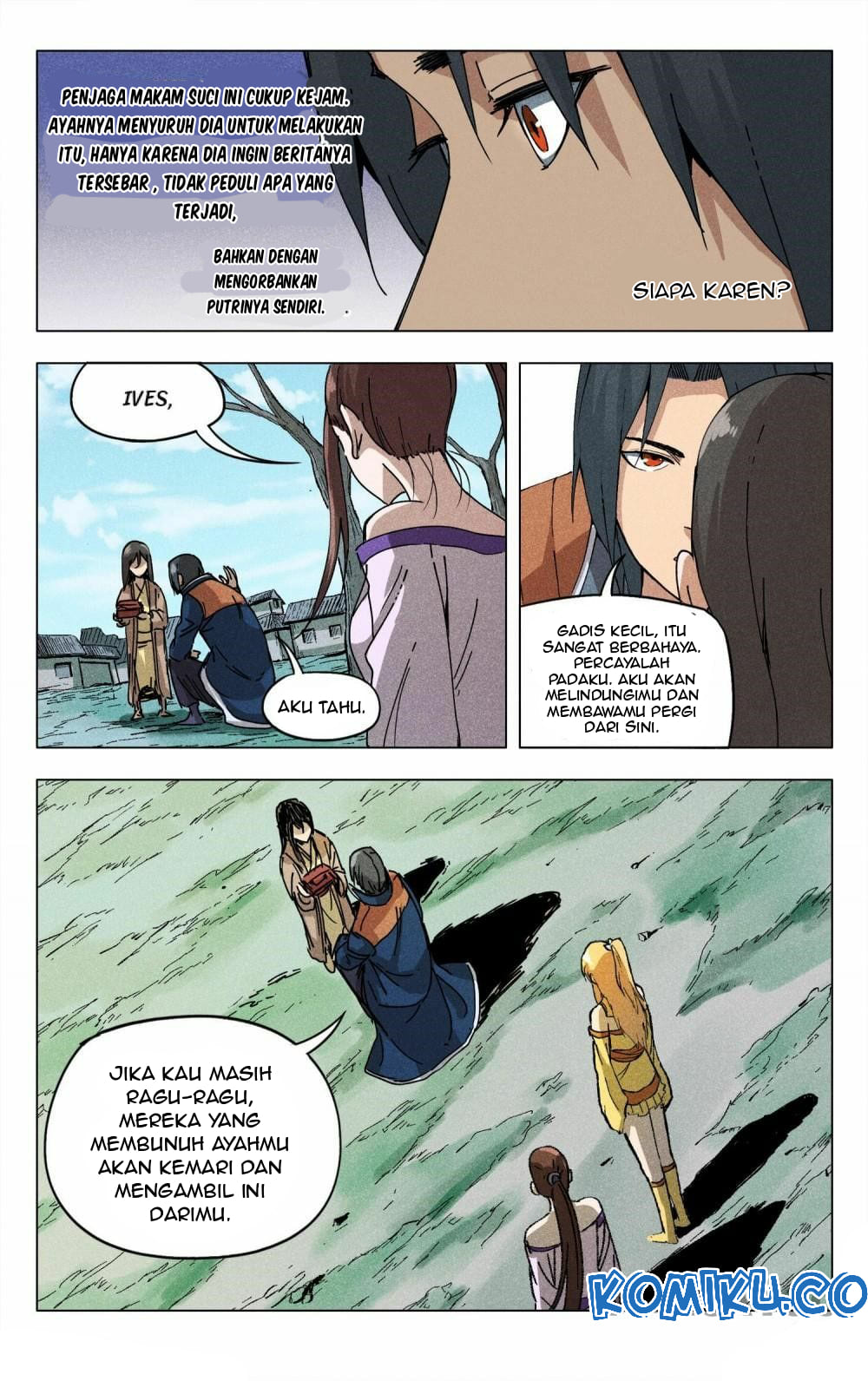 Deity's Path through Ten Thousand Worlds: Chapter 187 - Page 4