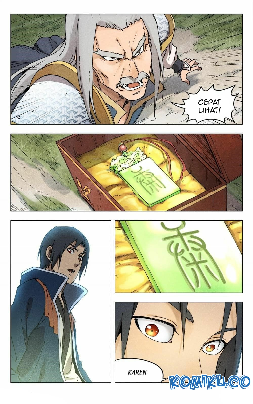 Deity's Path through Ten Thousand Worlds: Chapter 187 - Page 3