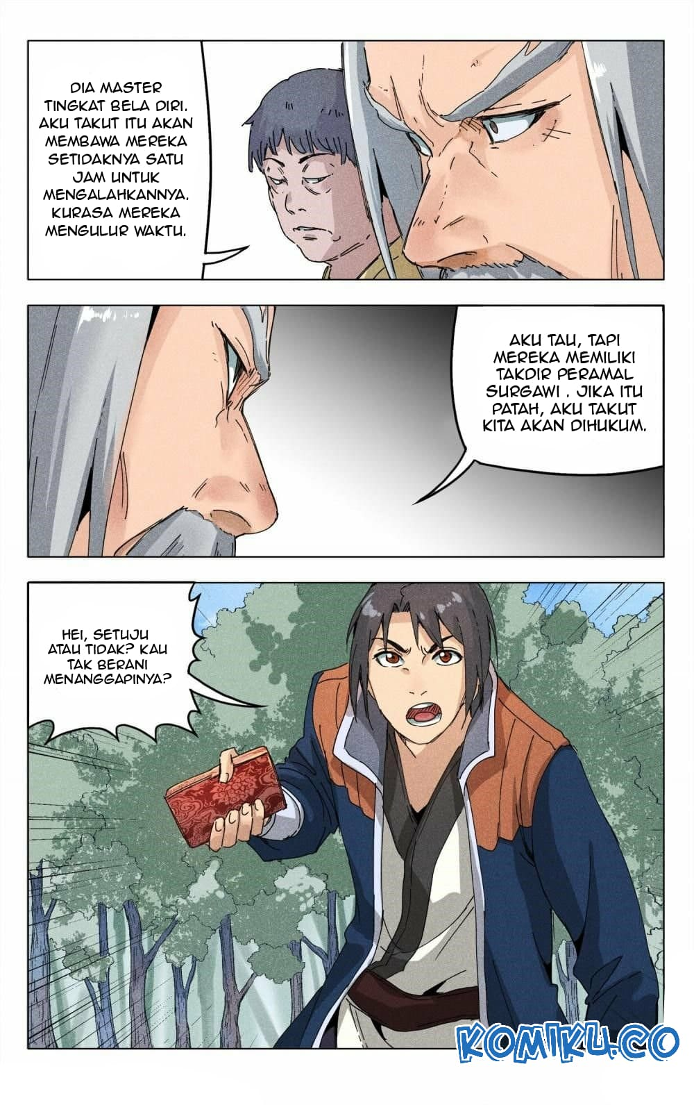 Deity's Path through Ten Thousand Worlds: Chapter 187 - Page 14