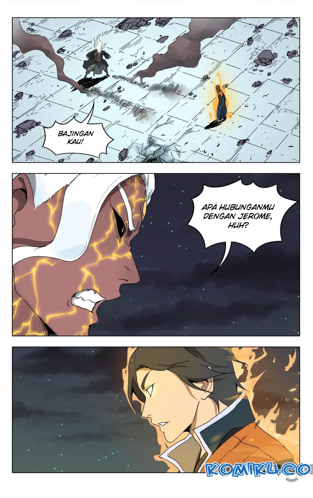 Deity's Path through Ten Thousand Worlds: Chapter 222 - Page 1