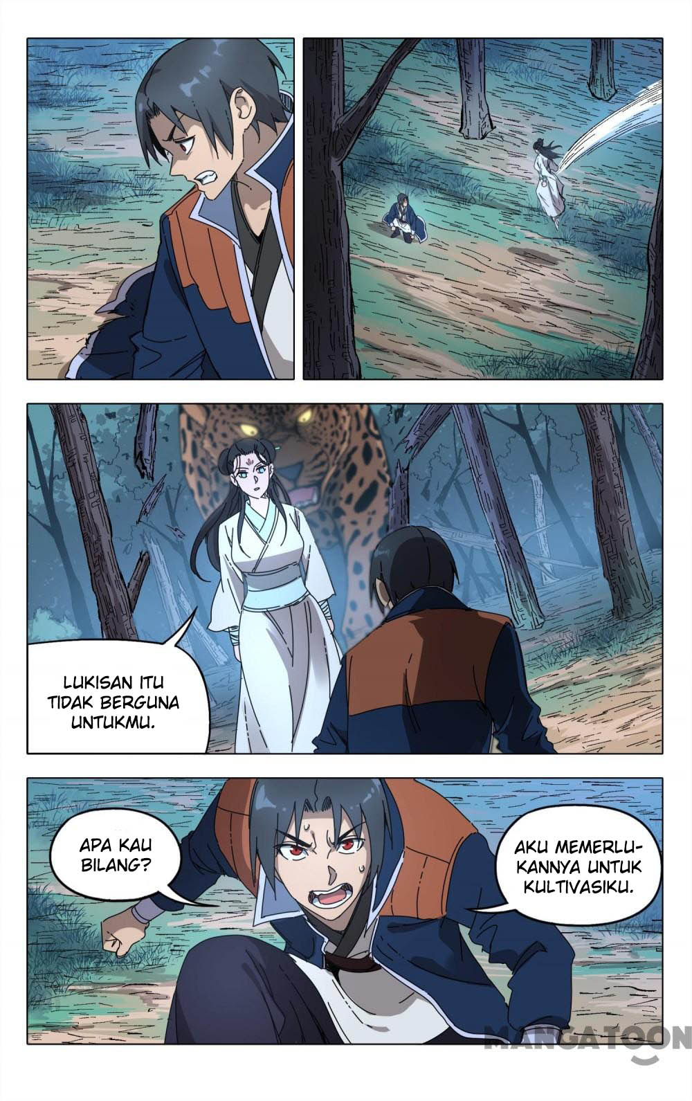 Deity's Path through Ten Thousand Worlds: Chapter 242 - Page 4