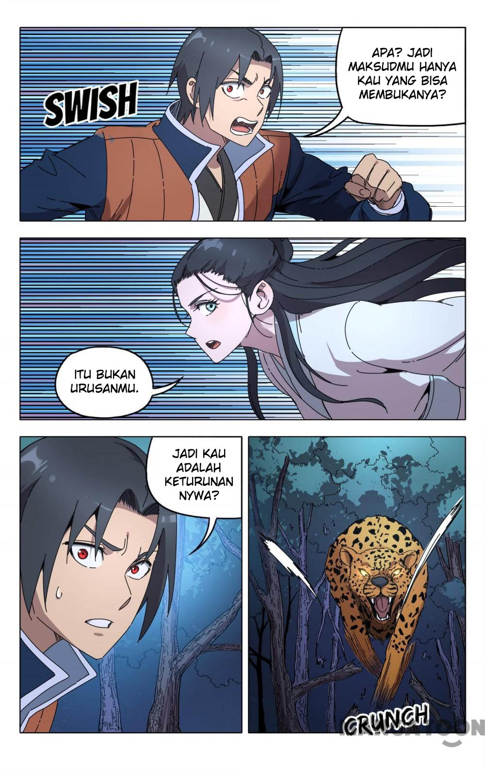 Deity's Path through Ten Thousand Worlds: Chapter 242 - Page 7