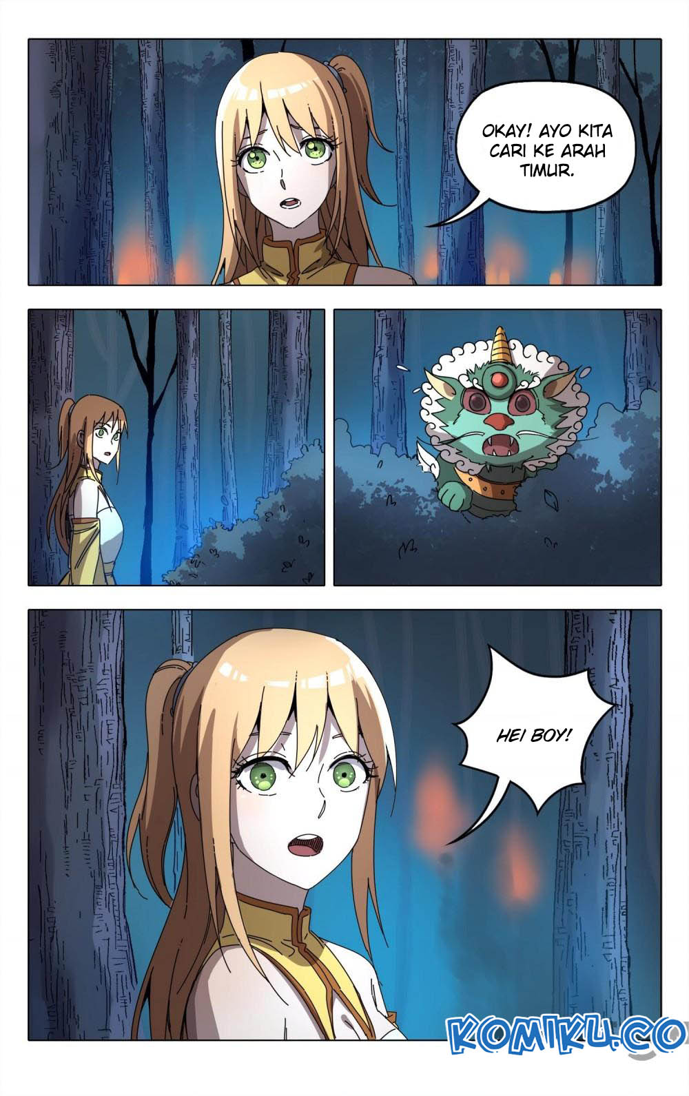 Deity's Path through Ten Thousand Worlds: Chapter 242 - Page 11