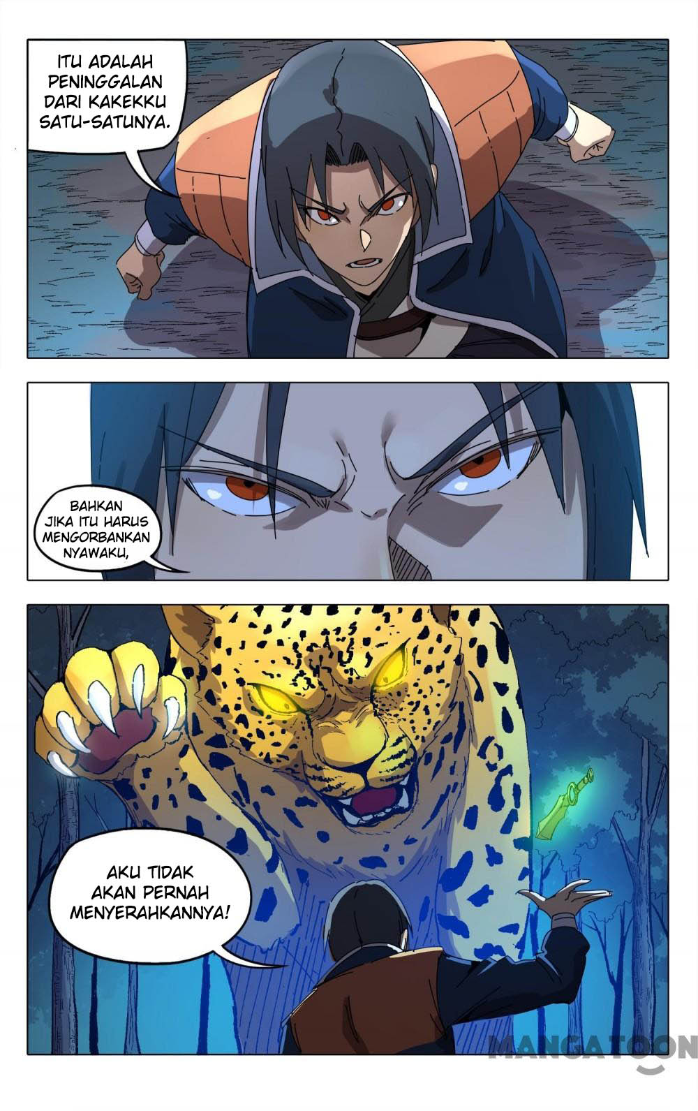 Deity's Path through Ten Thousand Worlds: Chapter 242 - Page 13