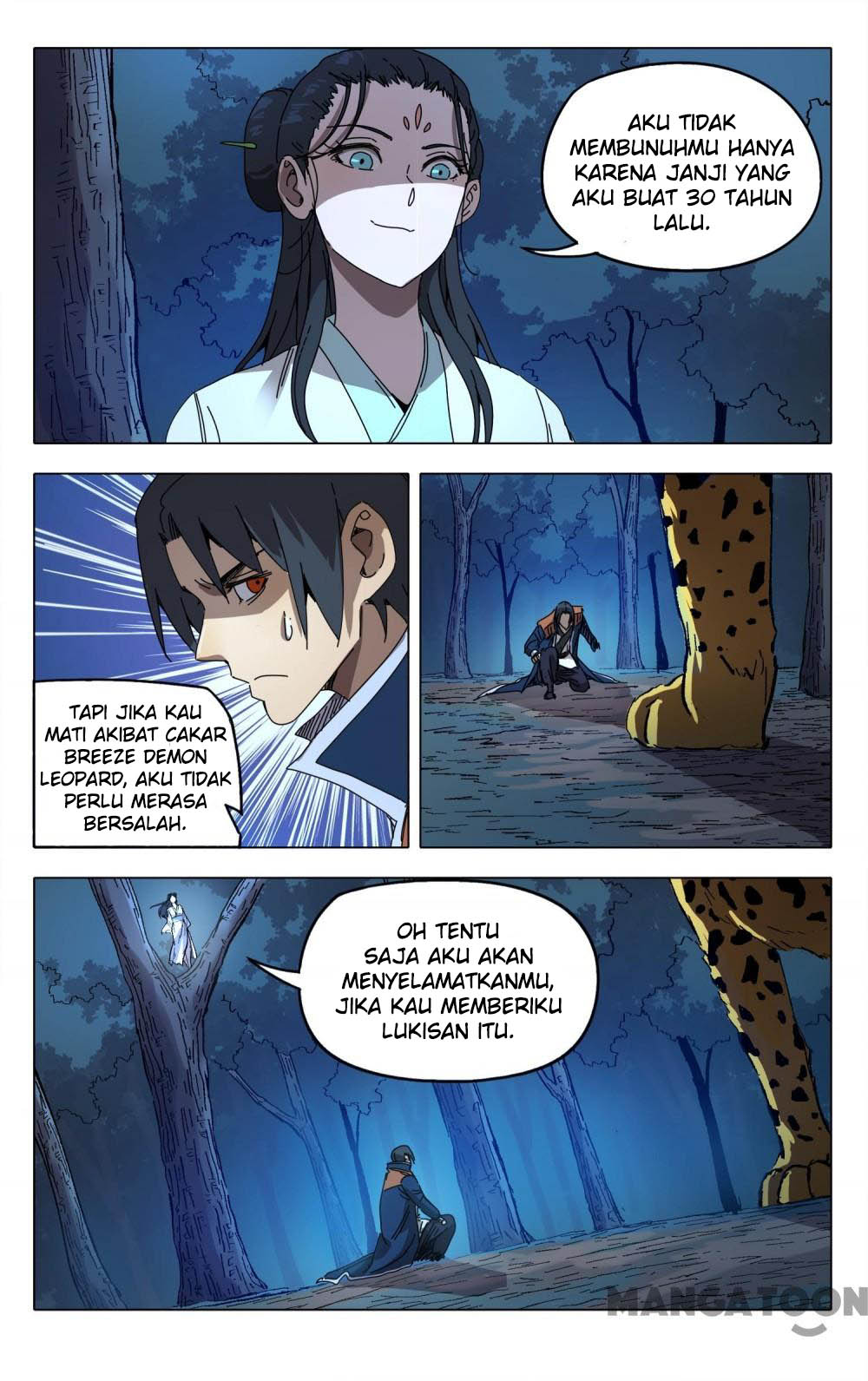 Deity's Path through Ten Thousand Worlds: Chapter 243 - Page 4