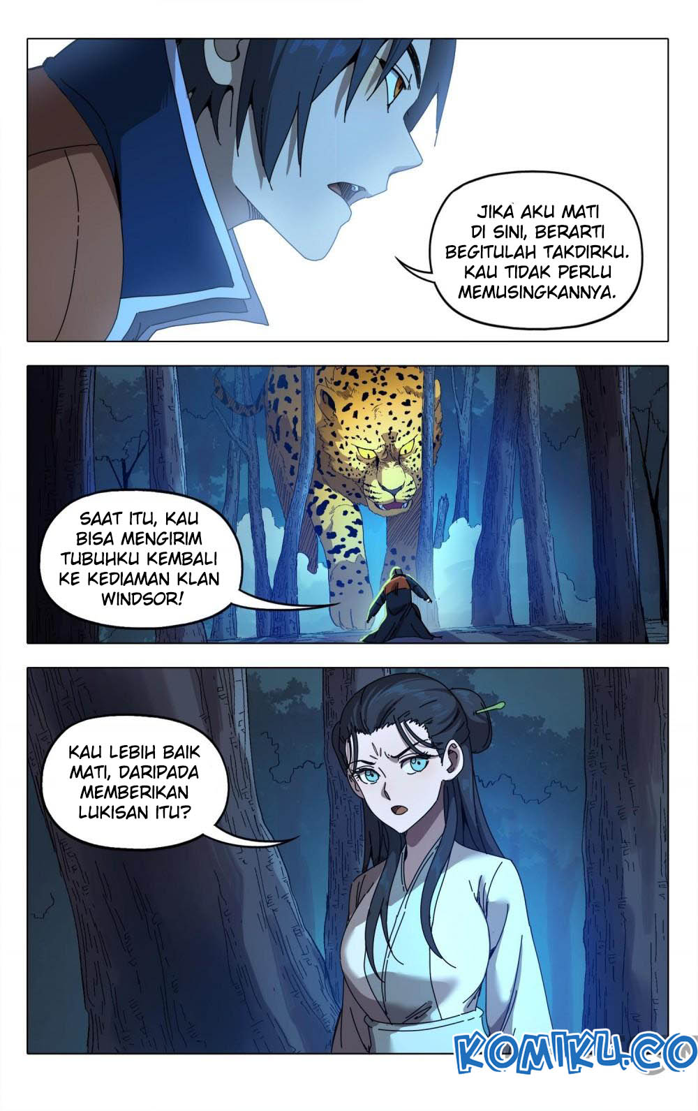Deity's Path through Ten Thousand Worlds: Chapter 243 - Page 5