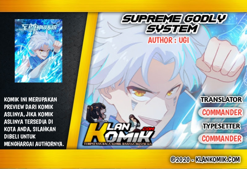 Supreme Godly System: Chapter 300 - Page 1