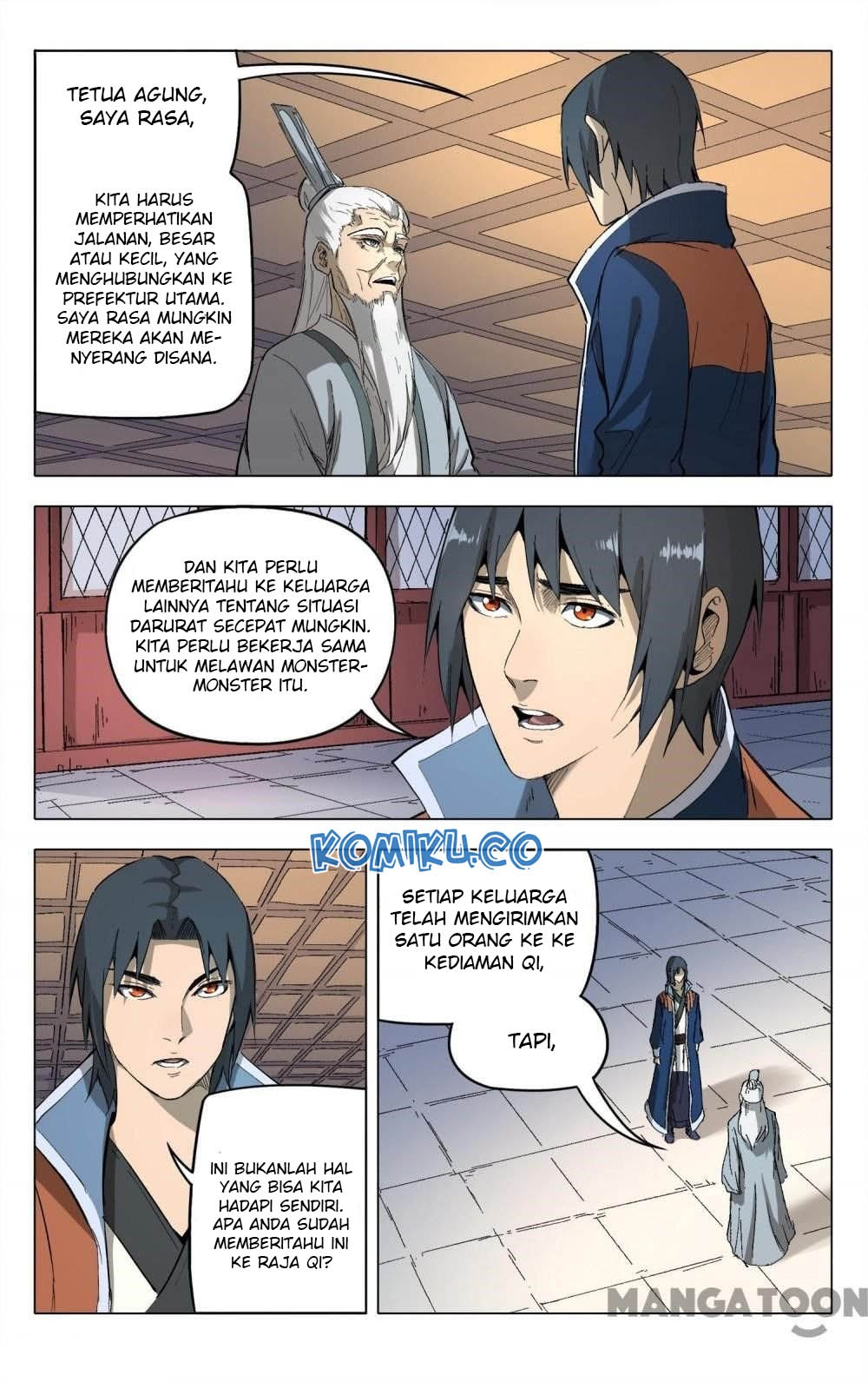 Deity's Path through Ten Thousand Worlds: Chapter 207 - Page 8