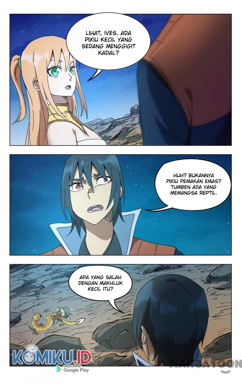 Deity's Path through Ten Thousand Worlds: Chapter 293 - Page 1