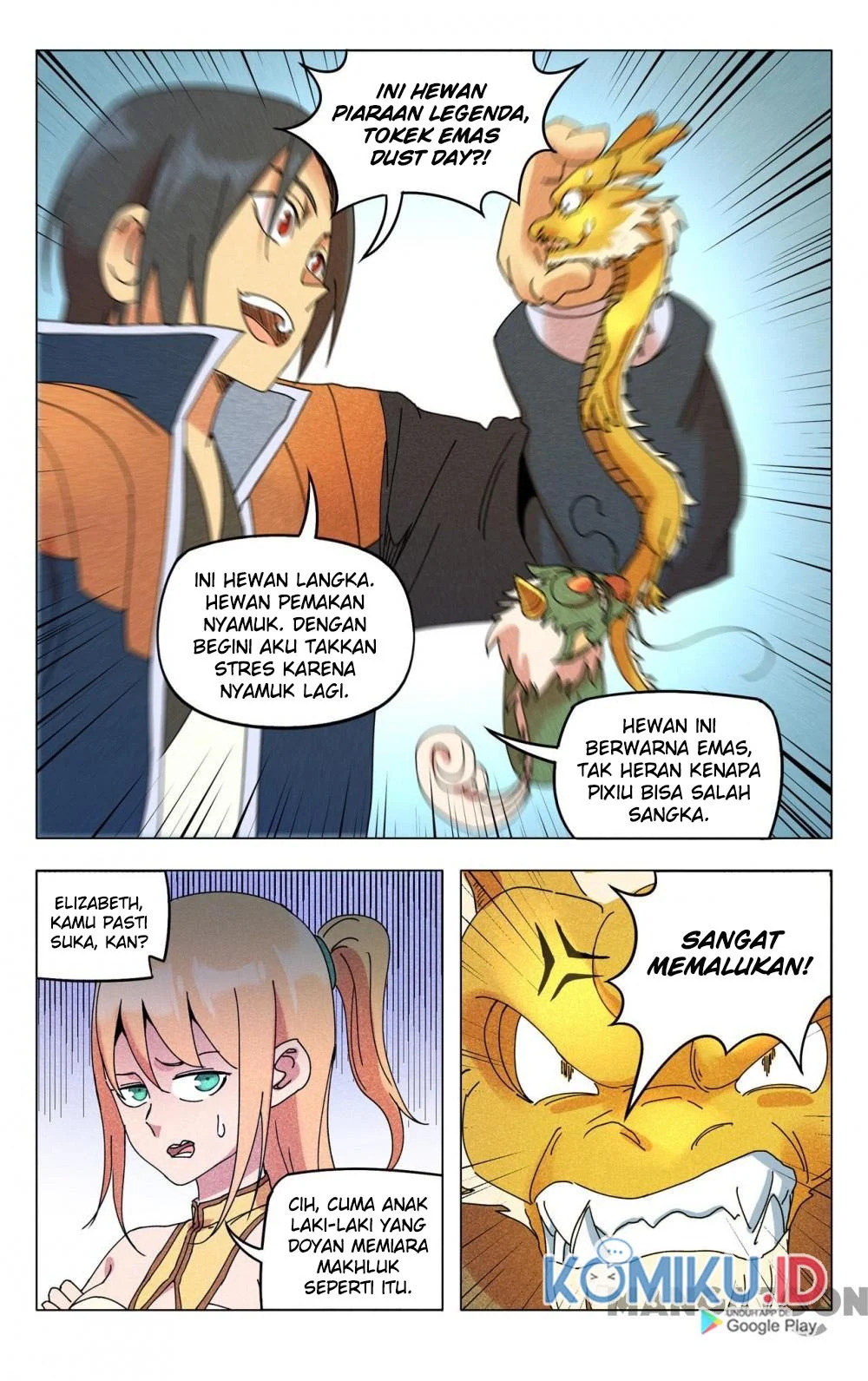 Deity's Path through Ten Thousand Worlds: Chapter 293 - Page 3
