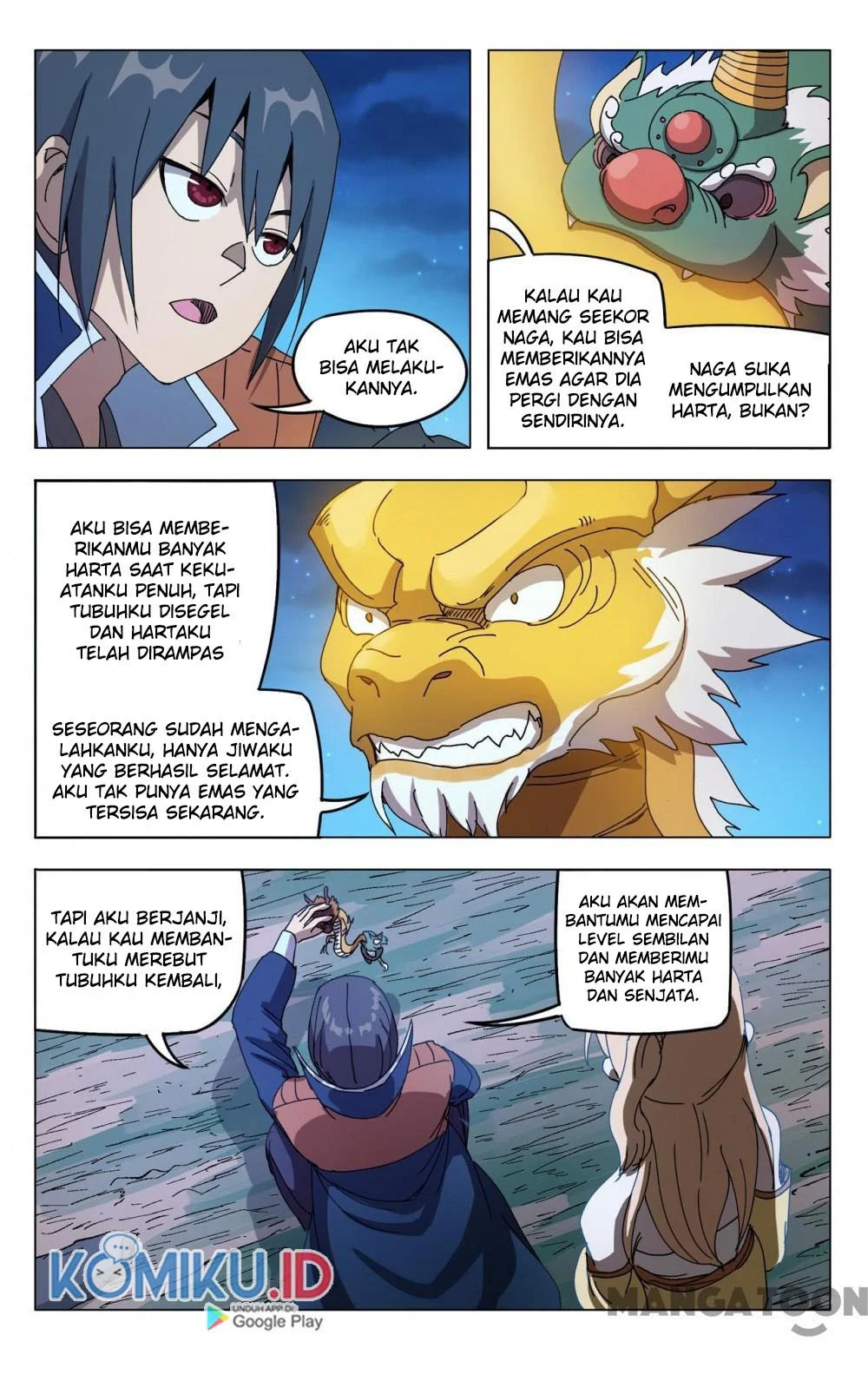 Deity's Path through Ten Thousand Worlds: Chapter 293 - Page 5