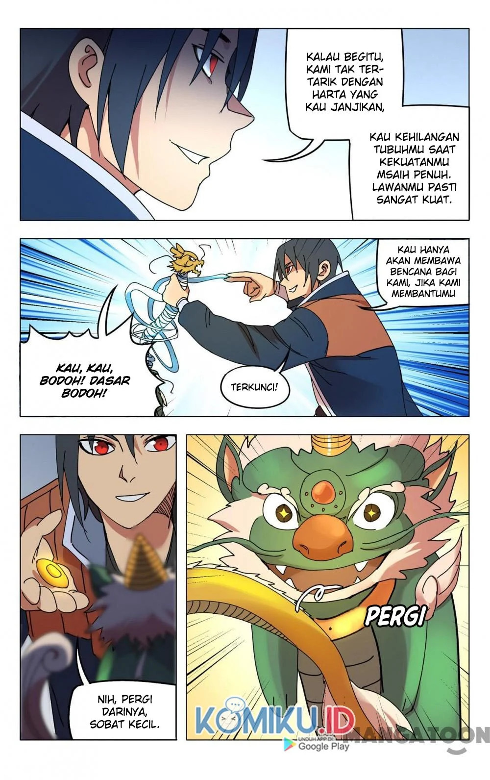 Deity's Path through Ten Thousand Worlds: Chapter 293 - Page 8