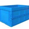 collapsible storage bins with lid