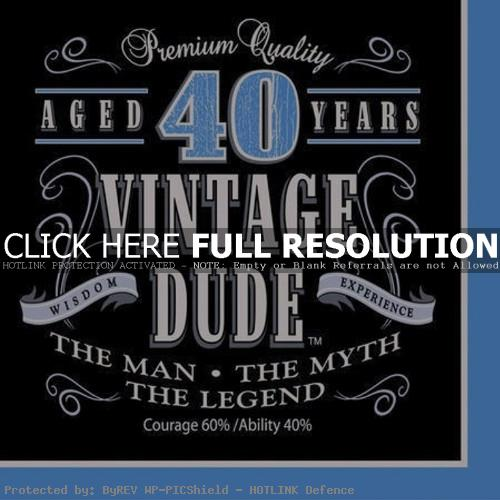 Funny 40th Birthday Quotes Quotesgram