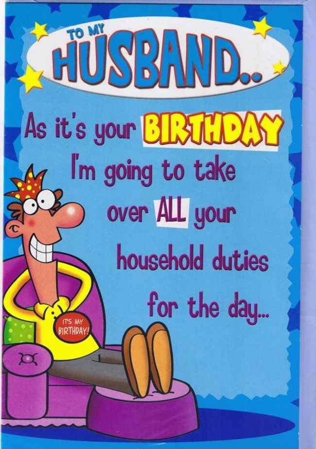 Funny Birthday Quotes For Husband Quotesgram