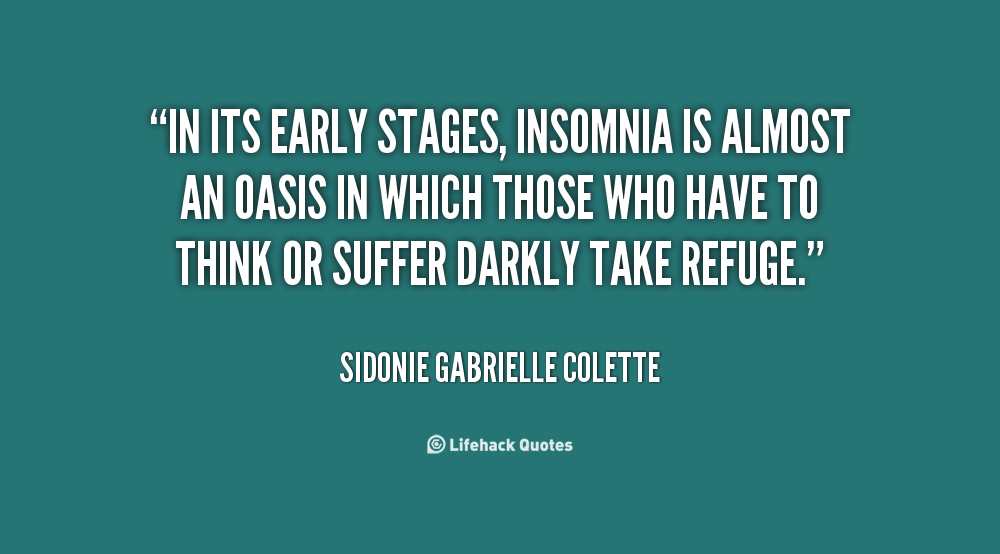 Bitchy Quotes About Insomnia Quotesgram
