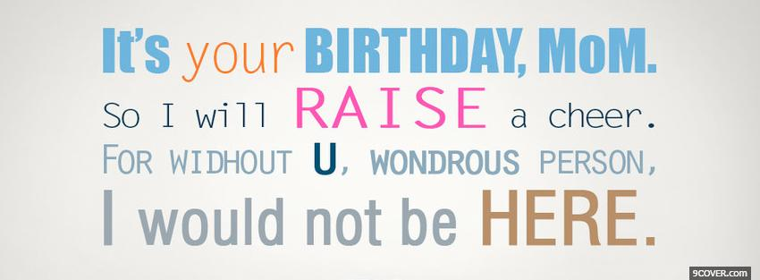 Funny Birthday Quotes For Mom Quotesgram