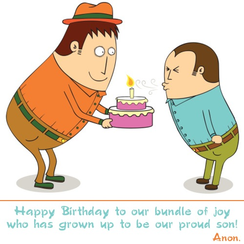 Birthday Quotes For Step Son Quotesgram