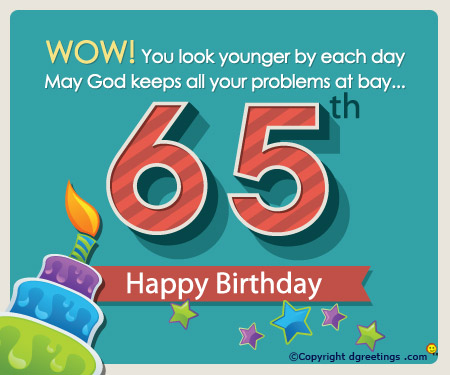 Funny Quotes About Turning 65 Quotesgram