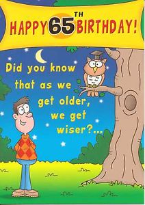 Pictures On 65th Birthday Funny Quotes
