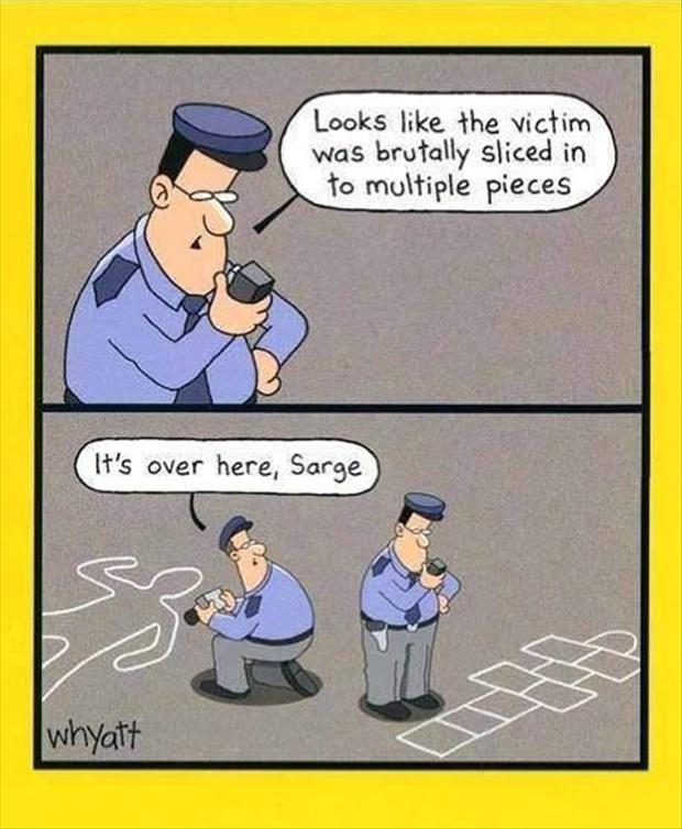 Police Detective Funny Quotes Quotesgram