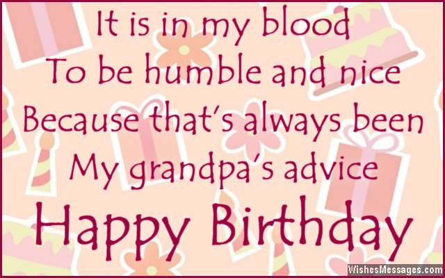 Funny Birthday Quotes For Grandpa Quotesgram