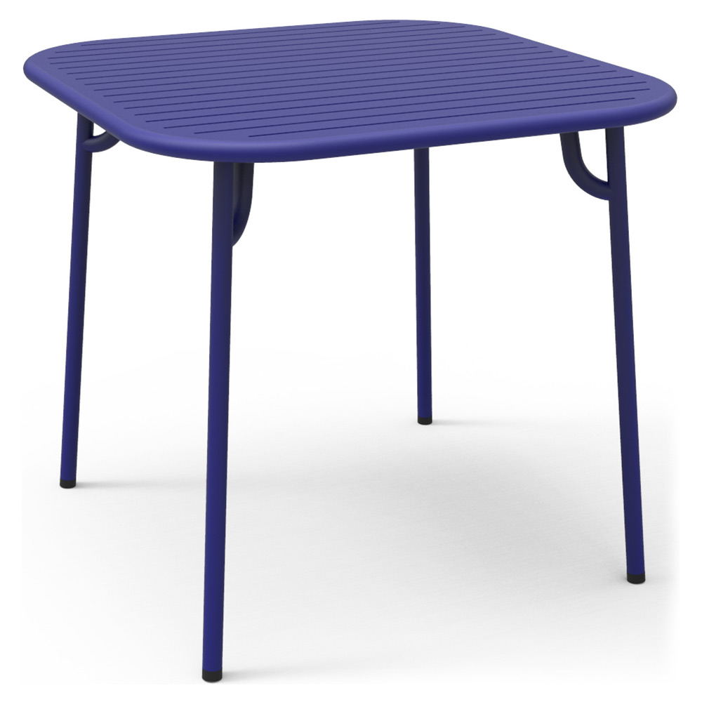 Week End Square Garden Table Blue Rouse Home