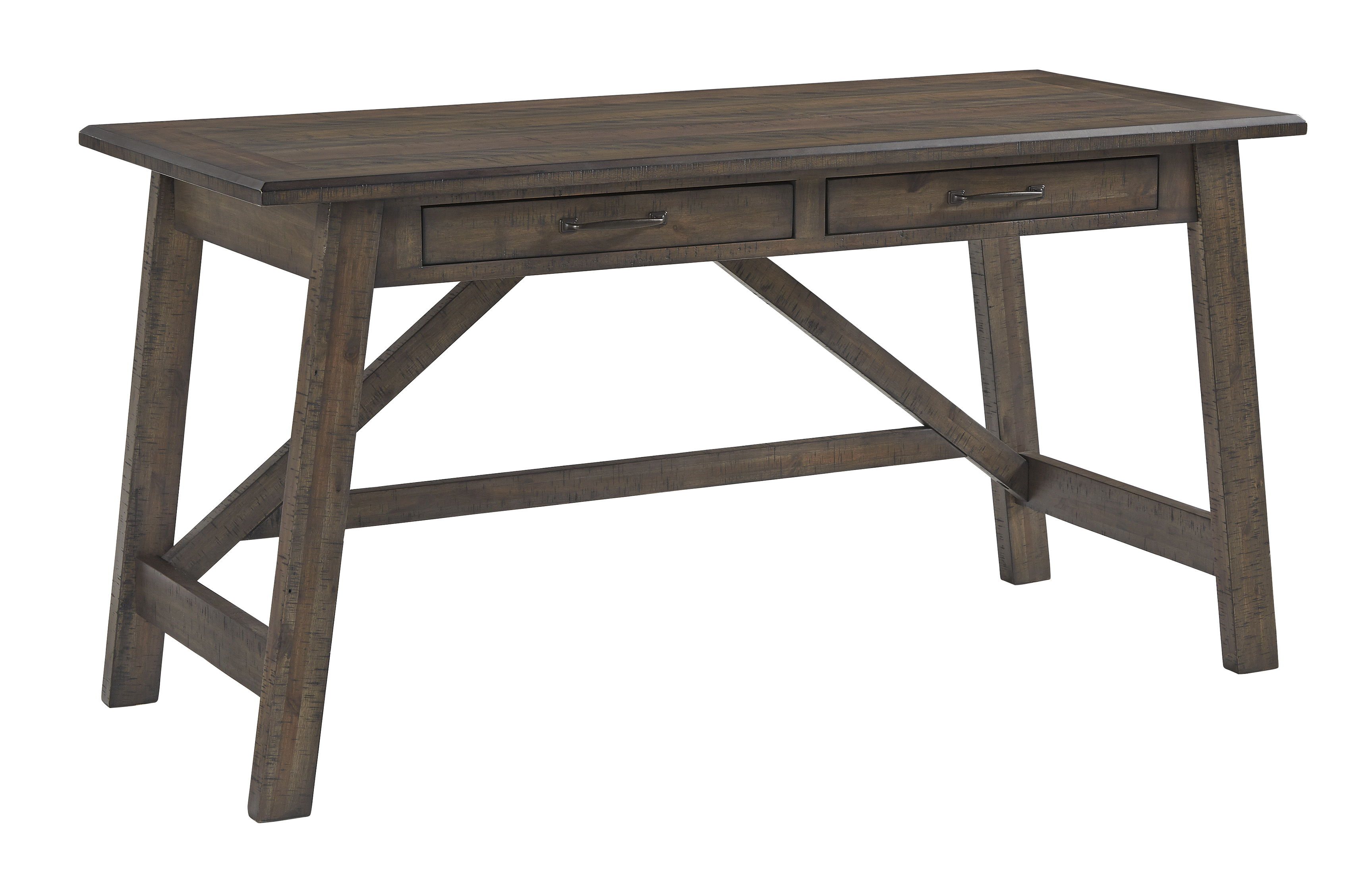 Ashley Furniture Johurst Gray Home Office Desk The Classy Home