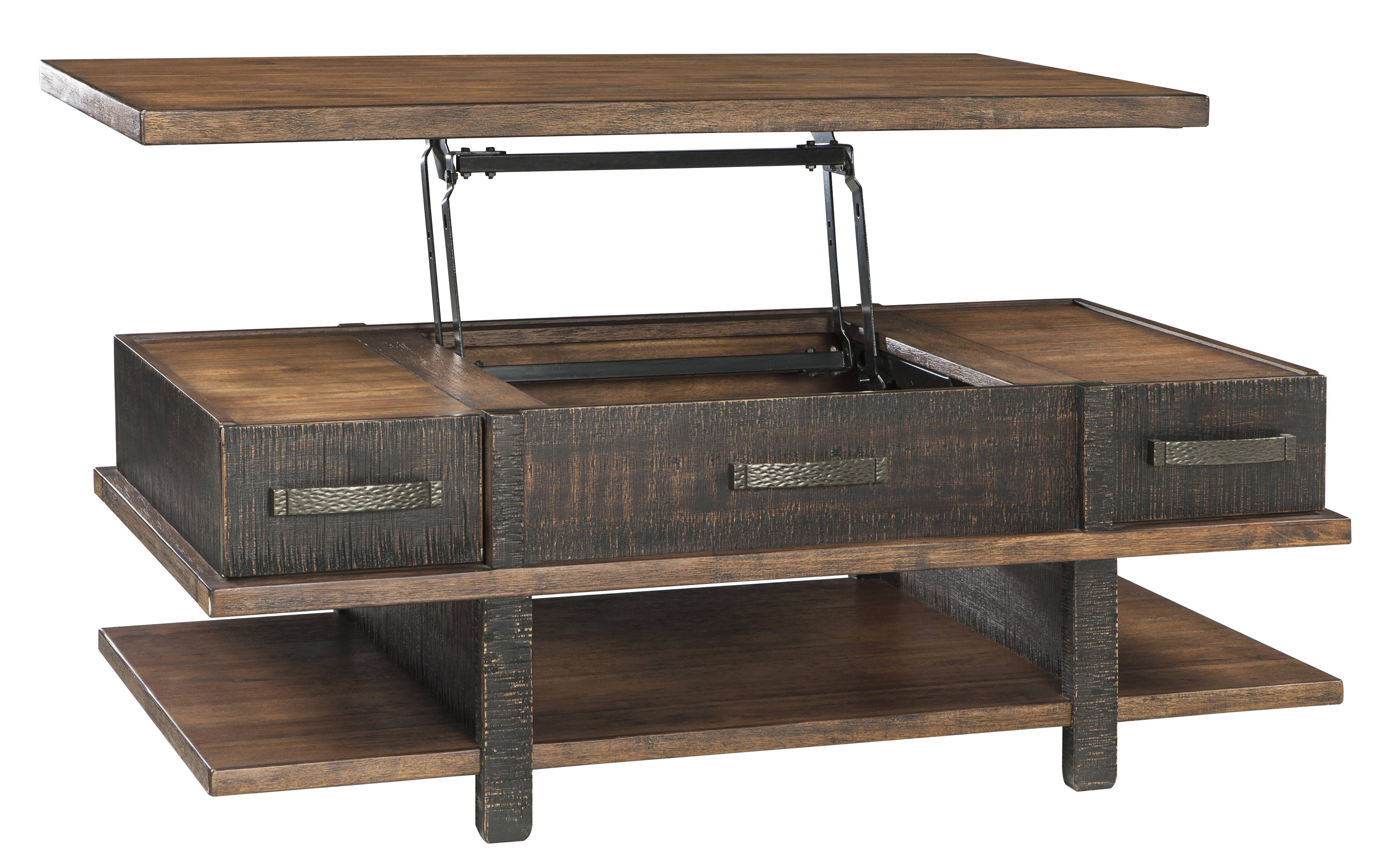Ashley Furniture Stanah Lift Top Cocktail Table The Classy Home