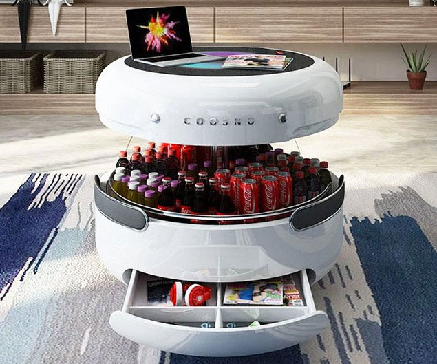 Coosno Smart Coffee Table Fridge