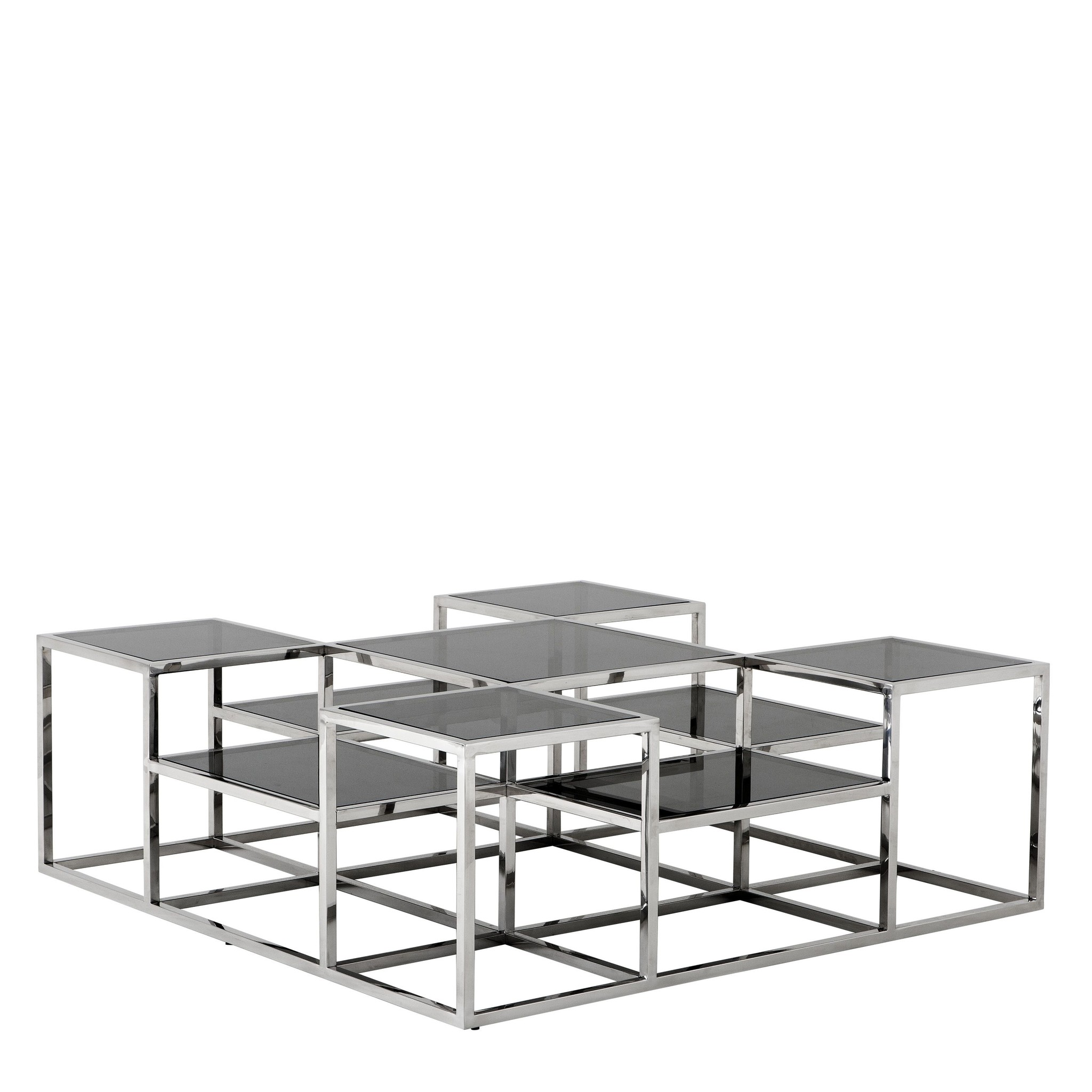 Smythson Designer Coffee Table 120 X 120 X H 42 Cm Wilhelmina