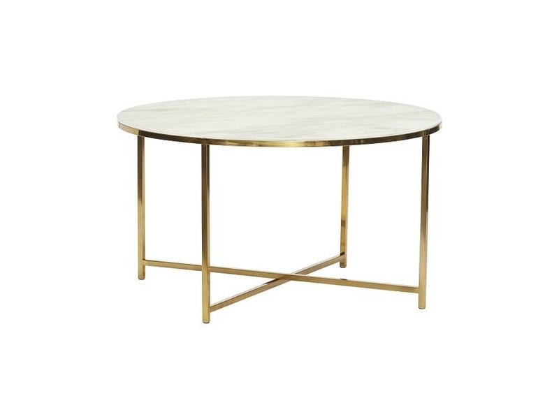 Hubsch Coffee Table White Marble Living And Co