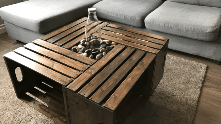 No One Will Guess You Made This Diy Farmhouse Coffee Table