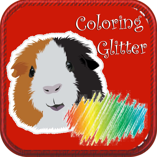 Download Guinea Pig Coloring Books Glitter Paintbook Android Apk Free