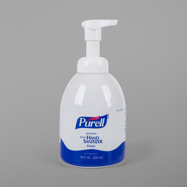 Purell 5792 04 Advanced 535 Ml Foaming Instant Hand Sanitizer