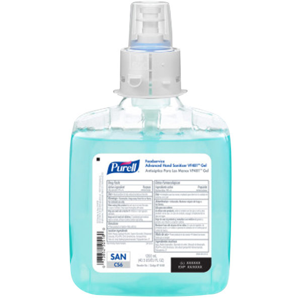 Purell 6568 02 Advanced Foodservice Cs6 1200 Ml Hand