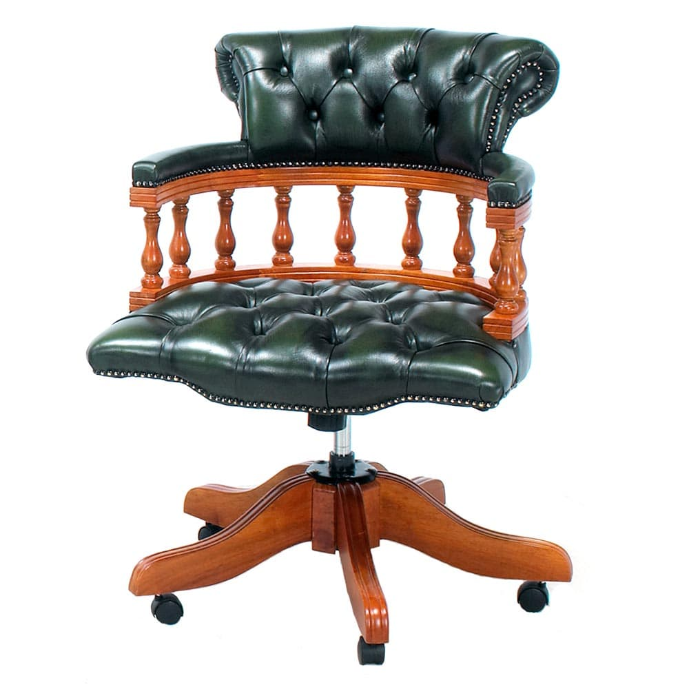 Chesterfield Captain's Chair