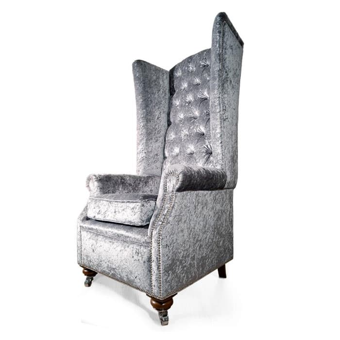 hampshire leather chesterfield wing chair