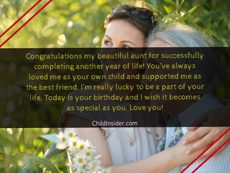 20 Lovable Happy Birthday Aunt Quotes From Niece