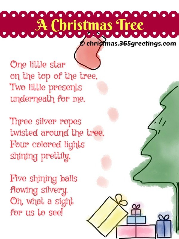 Christmas Poems Short 7