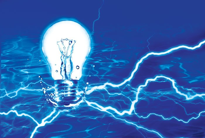 A combination of water and electricity can create more than just a burn.