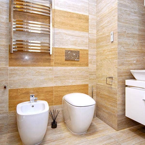 Consider installing a toilet bidet in order to minimize household waste.