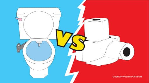 Toilet bidets are proven to be healthier than ordinary toilet papers.