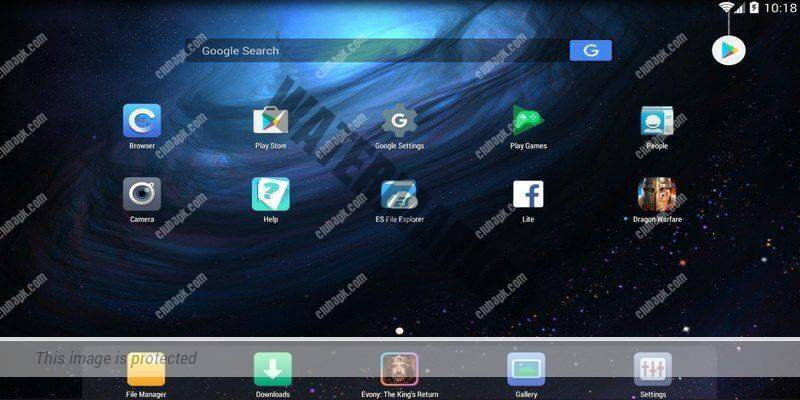 Nox Player android emulator for windows pc