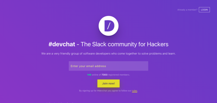 Why you should join DevChat - Code The Web