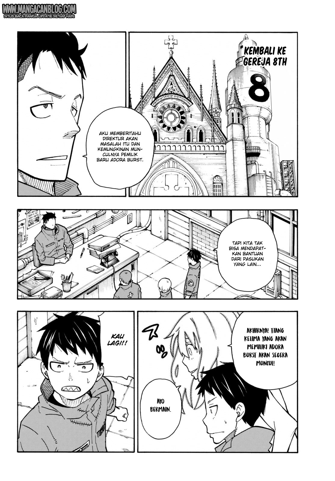 Fire Brigade of Flames Chapter 100