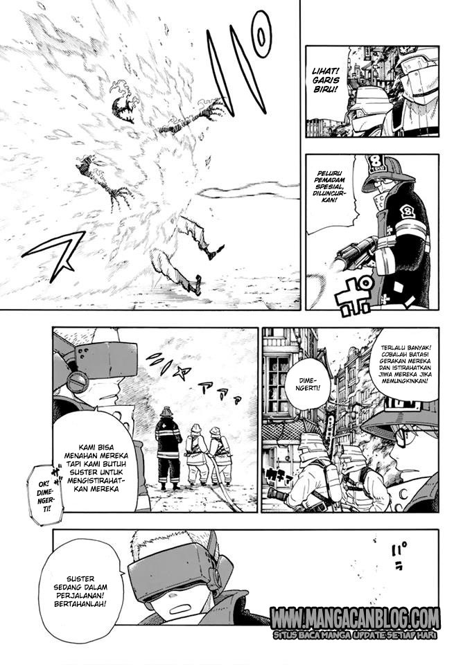 Fire Brigade of Flames Chapter 103