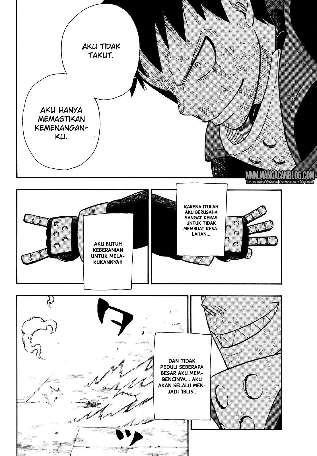 Fire Brigade of Flames Chapter 107
