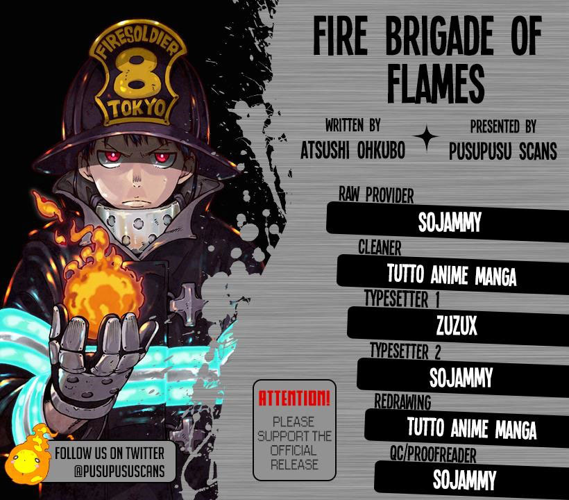 Fire Brigade of Flames Chapter 109