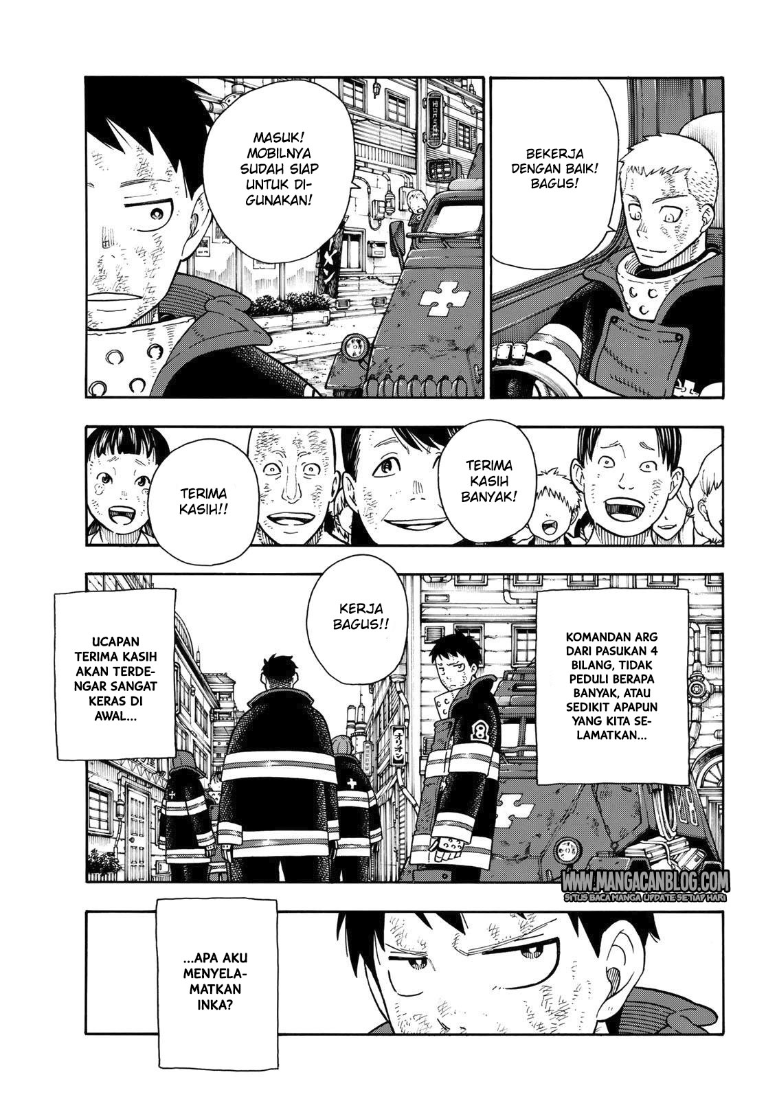 Fire Brigade of Flames Chapter 111